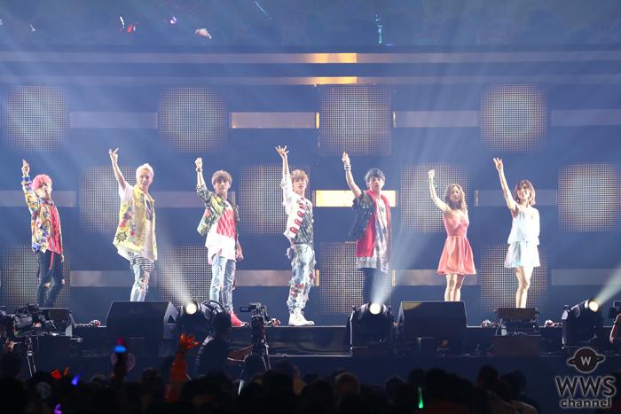 【ライブレポート】AAAが今年初の夏フェス登場!輝く笑顔で歓喜のステージ!「a-nation最高!」