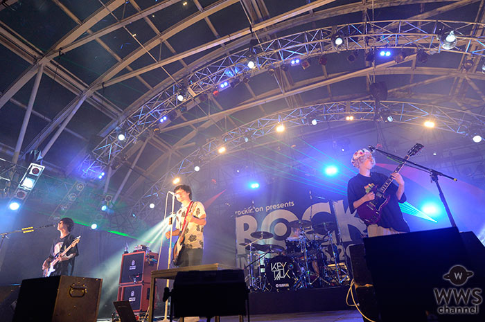 KEYTALKがROCK IN JAPAN FESTIVAL 2016 LAKE STAGEのトリで登場!