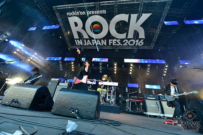 [Alexandros]がROCK IN JAPAN FESTIVAL 2016に登場!
