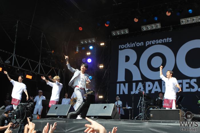 【ライブレポート】SKY-HIがROCK IN JAPAN FESTIVALで熱唱!「本当に上手いラップを見せてやるよ!」