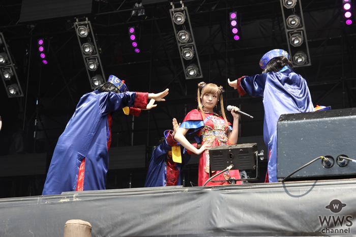 【ライブレポート】きゃりーぱみゅぱみゅがROCK IN JAPAN FESTIVALのステージで最&高なステージを繰り広げる!