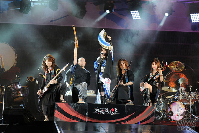 【ライブレポート】和楽器バンドがa-nation stadium fesに登場!世界も認めた新感覚サウンドでオーディエンスを魅了!