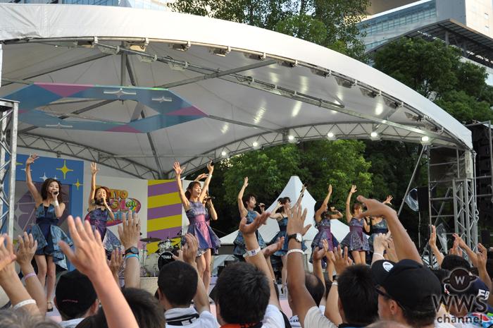 大人アイドル prediaがTIF2016 初日のSMILE GARDENでセクシー&クール パフォーマンスを魅せる!
