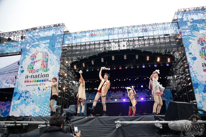 2016年夏の新曲『パラダイブ』でDa-iCEがa-nation stadium fes.2016のオープニングを盛り上げる!
