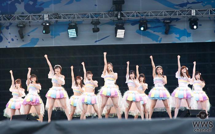 SKE48が16人の選抜メンバーでa-nation stadium fesに初登場。怒涛のヒット曲を披露!