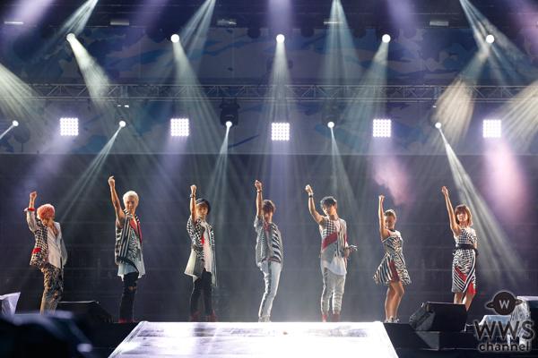 AAAがa-nation stadium fes. 2016に登場!大歓声が会場いっぱいに響き渡る!