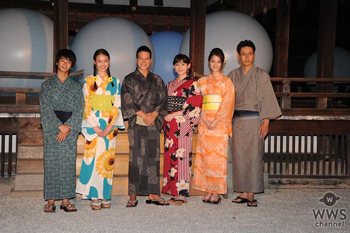 佐々木希 三代目JSB 山下健二郎らが登壇!京都で「下鴨神社 糺の森の光の祭」オープニングレセプション開催!