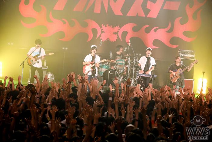 【ライブレポート】「男どアホウサンボマスター2016」最終日、キュウソネコカミが先輩バンドに先制攻撃!