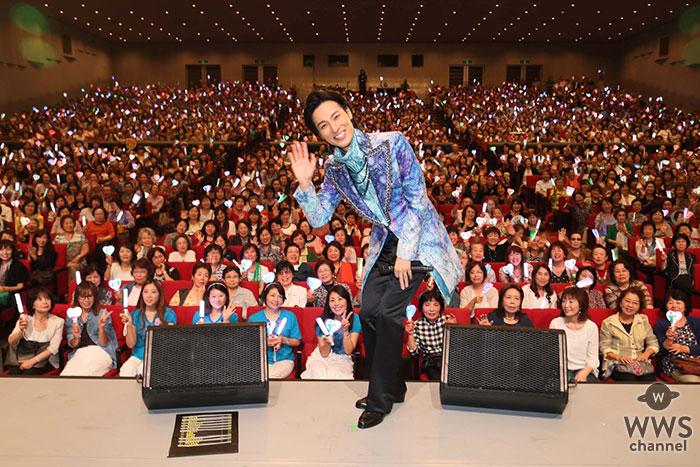 山内惠介が全国5大都市コンサートツアーの最終日を 東京・中野サンプラザホールで開催で全26曲熱唱! 来年10月に東京国際フォーラム公演が決定!