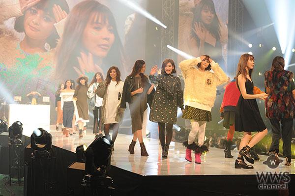 神戸コレクション2016 A/Wに 池田エライザ、新川優愛ら豪華モデルが共演!12493人の観客を魅了!