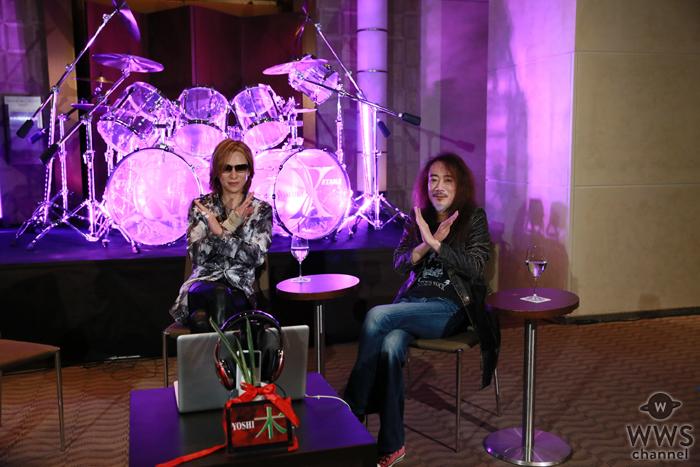 X JAPAN PATAが約9ヶ月ぶりに復帰!ニコ生・YOSHIKIチャンネルに登場!「完全復帰したら飲もう。軽くね(笑)」