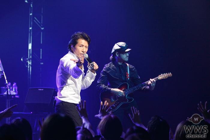 藤井フミヤの2年ぶりの全国ツアーが幕開け!新旧ヒット曲を織り交ぜた20曲を超えるセットリストに2700人の観客も大満足の構成!