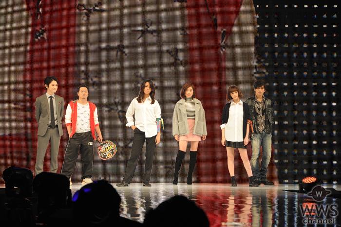 筧美和子、玉城ティナらが神戸コレクションで映画『闇金ウシジマくん』をPR!「キャバ嬢の方の気持ちが少しわかったような気がしました」
