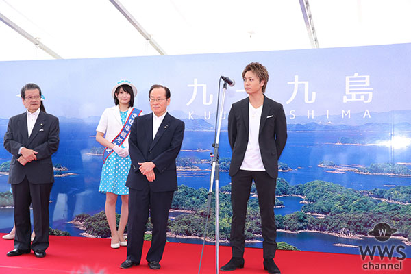 EXILE TAKAHIRO 故郷・長崎佐世保の観光名誉大使に就任!「佐世保をどんどん盛り上げていきたい」