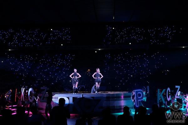 E-girlsの藤井姉妹の新ユニット『ShuuKaRen』が初パフォーマンス!Bリーグ開幕をSAMURIZE、PKCZ®と共に彩る!