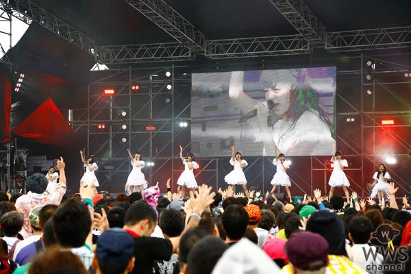 【ライブレポート】私立恵比寿中学が氣志團万博でまっすぐな王道アイドルソング勝負!魂のステージでオーディエンスを魅了!