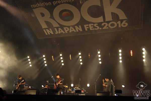 【ライブレポート】ASIAN KUNG-FU GENERATIONがROCK IN JAPAN FESTIVAL 2016のトリで登場!日本最大フェスを締めくくる!