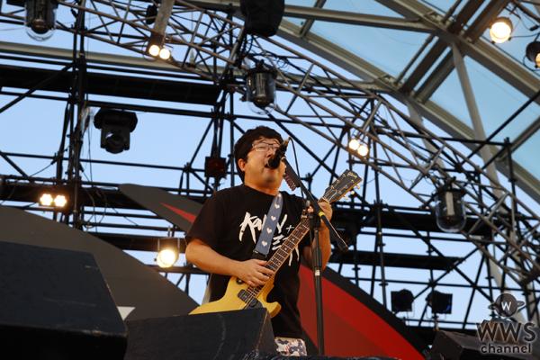 【ライブレポート】サンボマスターがROCK IN JAPAN FESTIVAL 2016で宇宙一の奇跡を起こす!?