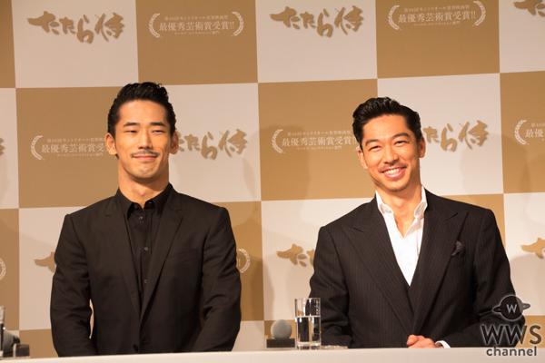 青柳翔、AKIRA、小林直己が映画『たたら侍』の最優秀芸術賞受賞の喜びを語る!「今までの侍魂の表現とは異なる表現がポイント」