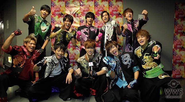 【動画】名古屋出身の10人組・BOYS AND MENにTGC 2016 A/Wでインタビュー! 「日本武道館では皆に勇気と希望を届けられるようなステージにしたい」
