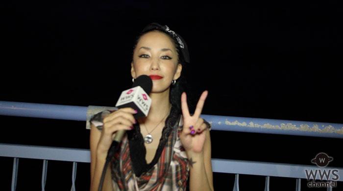 【動画】氣志團万博初出演となる中島美嘉にインタビュー!「『GLAMOROUS SKY』の曲のパワーって凄いなって感じましたね。」
