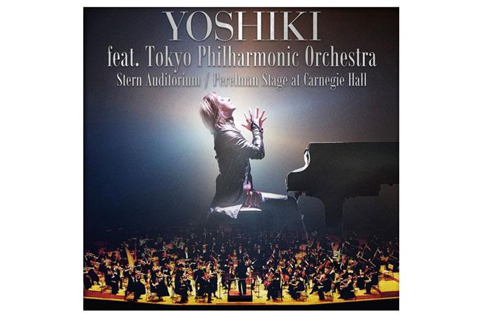 YOSHIKI 米国・ニューヨーク カーネギーホールで2DAYS決定! 東京フィルハーモニックオーケストラと共演! YOSHIKI CLASSICAL SPECIAL feat. Tokyo Philharmonic Orchestra