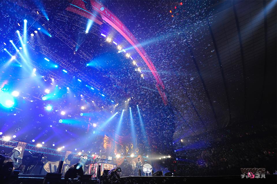 大人気の4人組バンドSEKAI NO OWARIが登場!テレビ朝日ドリームフェスティバル2014