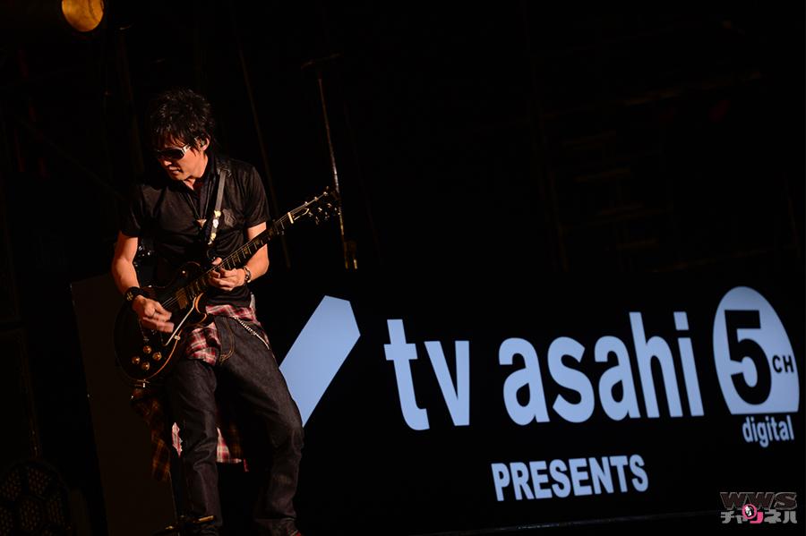 スガシカオがKAT-TUNへの提供曲「Real Face」を熱唱!テレビ朝日ドリームフェスティバル2014