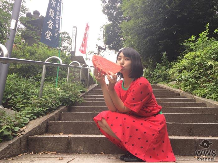 スイカバーの人・夏芽優李が今季最後のライブ開催を決定!オフィス系アイドル・カプ式会社ハイパーモチベーションらも参戦!