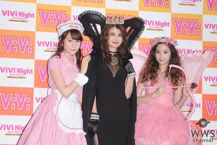 マギーがクールな女王姿でViVi専属モデル卒業のラストステージを前に思いを語る!「ViViで教わったことを活かして頑張っていきたい」