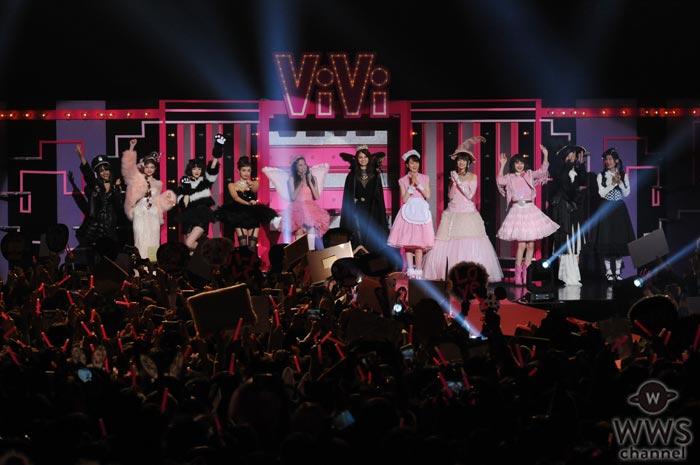 玉城ティナ、宮城舞、マギーらViViの人気モデル達がハロウィン衣装のファッションショーでViVi Nightのオープニングを彩る!