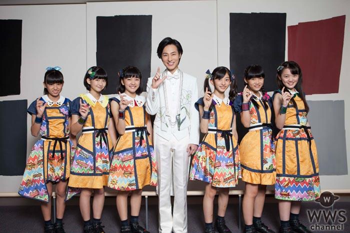 ばってん少女隊が演歌界の貴公子・山内惠介と異色コラボ!新曲『のびしろ行進曲』をサプライズ初披露!