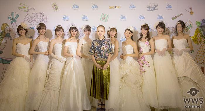 西野カナ ガルアワのトップバッターで久々のラブバラードシングル「Dear Bride」を10名の花嫁と初披露!
