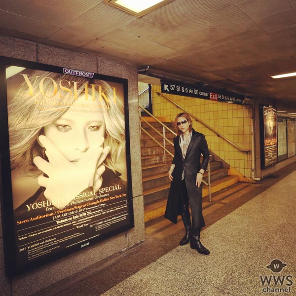 X JAPAN YOSHIKIへ世界中から熱い視線が!「We Are X」がアカデミー賞レースに参戦!?更にカーネギーホール公演も話題騒然!