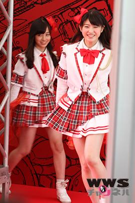 【VMAJ2014】「天使すぎるアイドル」橋本環奈が所属するアイドルグループRev.from DVLがレッドカーペットに登場!