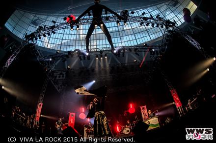 【ライブレポート】レキシが『妹子なぅ』『きらきら武士』など披露!VIVA LA ROCK 2015