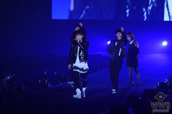 AAA 與真司郎がソロ楽曲をTGC北九州で初披露!「他のメンバーいなくて寂しいです。けど、楽しかったです!」