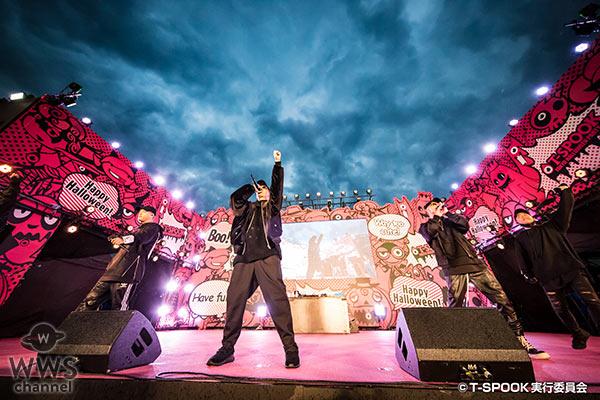 【写真特集】DOBERMAN INFINITYが全身黒コーデでお台場ハロウィーンに登場!