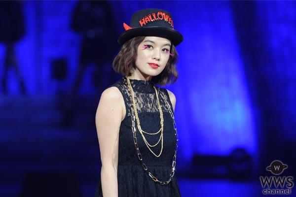 筧美和子がセクシーワンピースの小悪魔衣装でジャック・オー・ランドに登場!