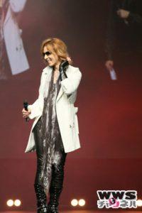 X JAPANのYOSHIKIがJAPAN EXPOで3つの重大発表!ニューアルバムは3月11日発売決定!