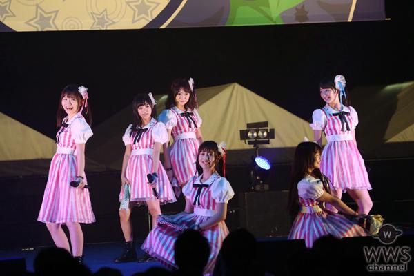 【ライブレポート】王道アイドル paletが@JAM EXPO 2016に登場!幕張メッセに6人のカラーが輝きを放つ!