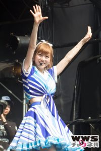 【ライブレポート】Silent Sirenが新曲『八月の夜』など披露!ROCK IN JAPAN FESTIVAL 2015