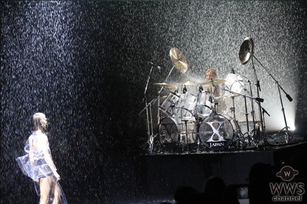 YOSHIKIのピアノとドラムが炸裂!土砂降り大演奏で沸かせたYOSHIKIMONOCOLLECTIONS 2017
