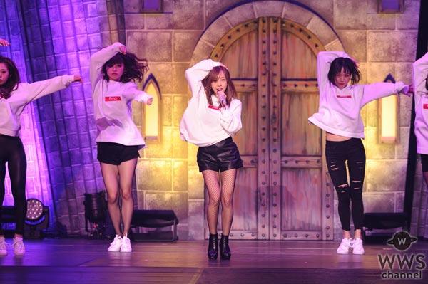 板野友美がセクシーな『おねだりダンス』でジャック・オー・ランドに集まった観客を悩殺!