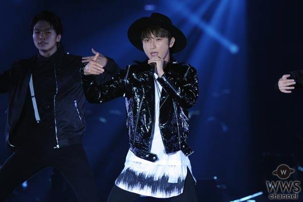 AAA 與真司郎がソロ楽曲をTGC北九州で初披露!「他のメンバーがいなくて寂しいです。けど、楽しかったです!」