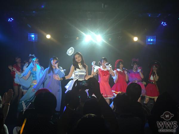 人気急上昇中のアイドルユニット・カプ式会社ハイパーモチベーションとPLCが超過激のガチ仮装でハロウィンライブ!