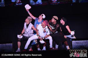 【ライブレポート】GENERATIONSがサマソニで新曲「Hard Knock Days」披露!タオルを回して投げて大熱狂!