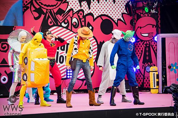 【写真特集】超特急がピクサーキャラでお台場ハロウィーンに登場!「僕達メンバーがやりたいって言って決めました!」