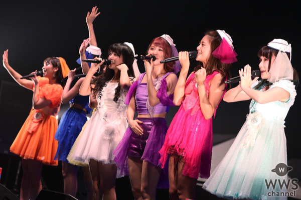 【ライブレポート】PASSPO☆が@JAM EXPO初日に大歓声の観客と共にノンストップ・フライトで初日のブルーベリーステージを締めくくる!