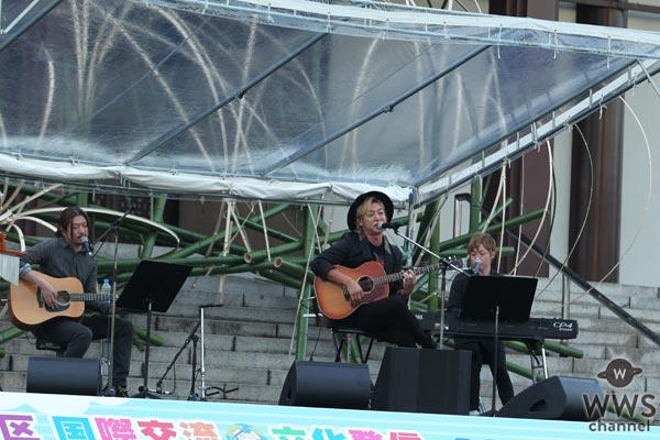 つるの剛士がポニーキャニオン創立50周年記念ステージで意外な曲を熱唱!「僕達おじさん子クラブが歌います(笑)」